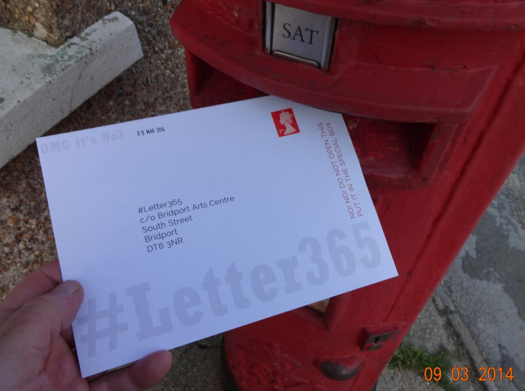 #Letter365 No3 goes in the box