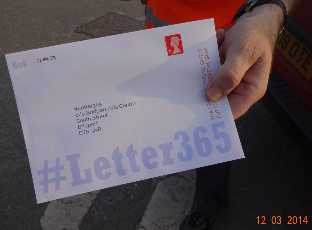 #Letter365 No6 handed to the postman