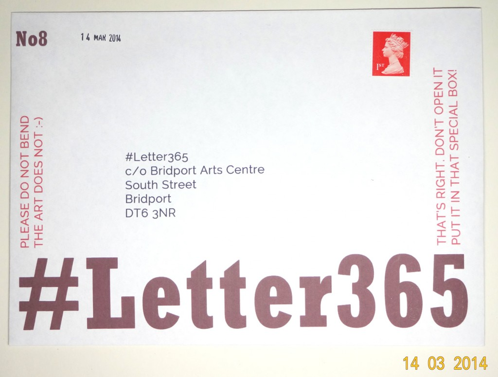 #Letter365 No8 is ready to go