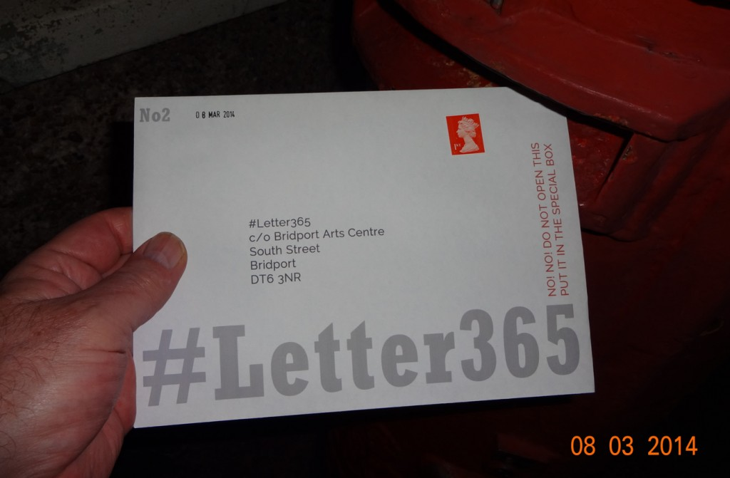 #Letter365 No2 goes in the post box