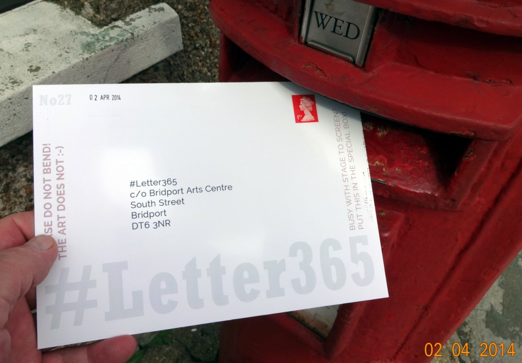 #Letter365 No27 gets posted