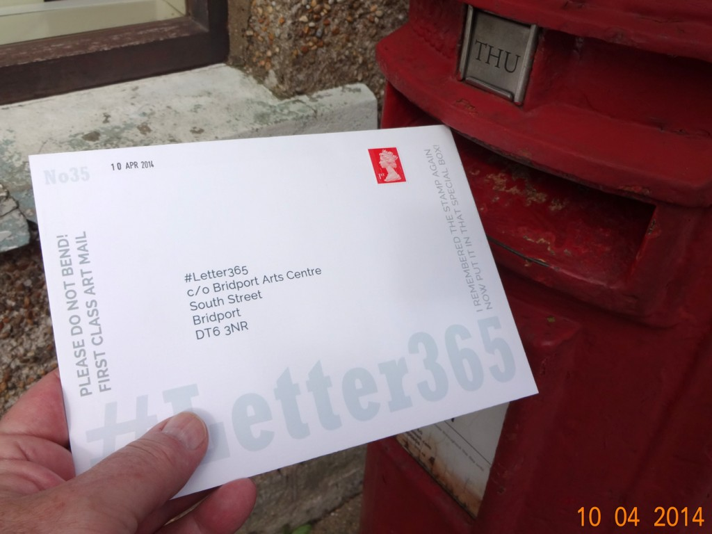 #Letter365 No35 is posted at Bradpole