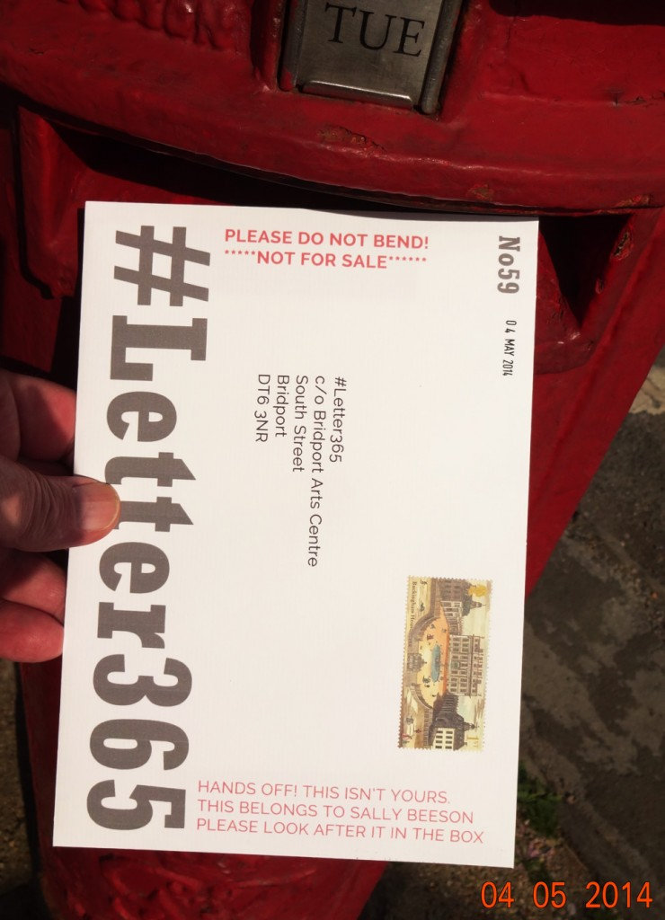 #Letter365 No59 gets posted in spring sunshine