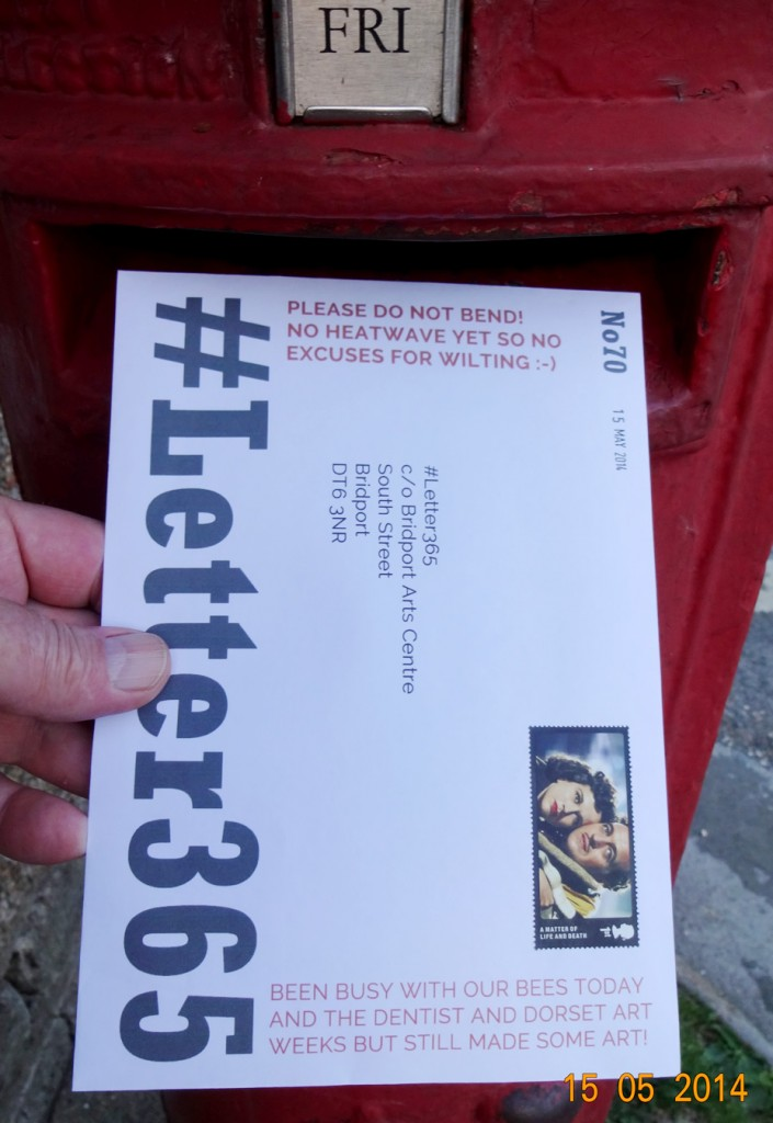 #Letter365 No70 being posted