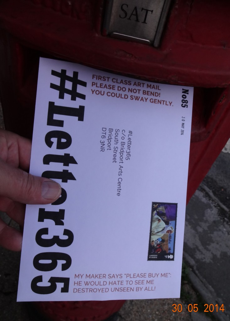 #Letter365 No85 goes in the box
