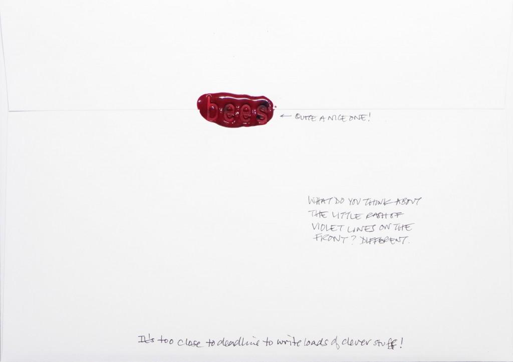 Back of #Letter365 No121