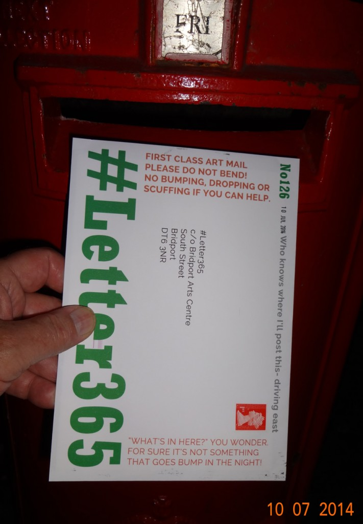 #Letter365 No126 gets posted in Bournemouth