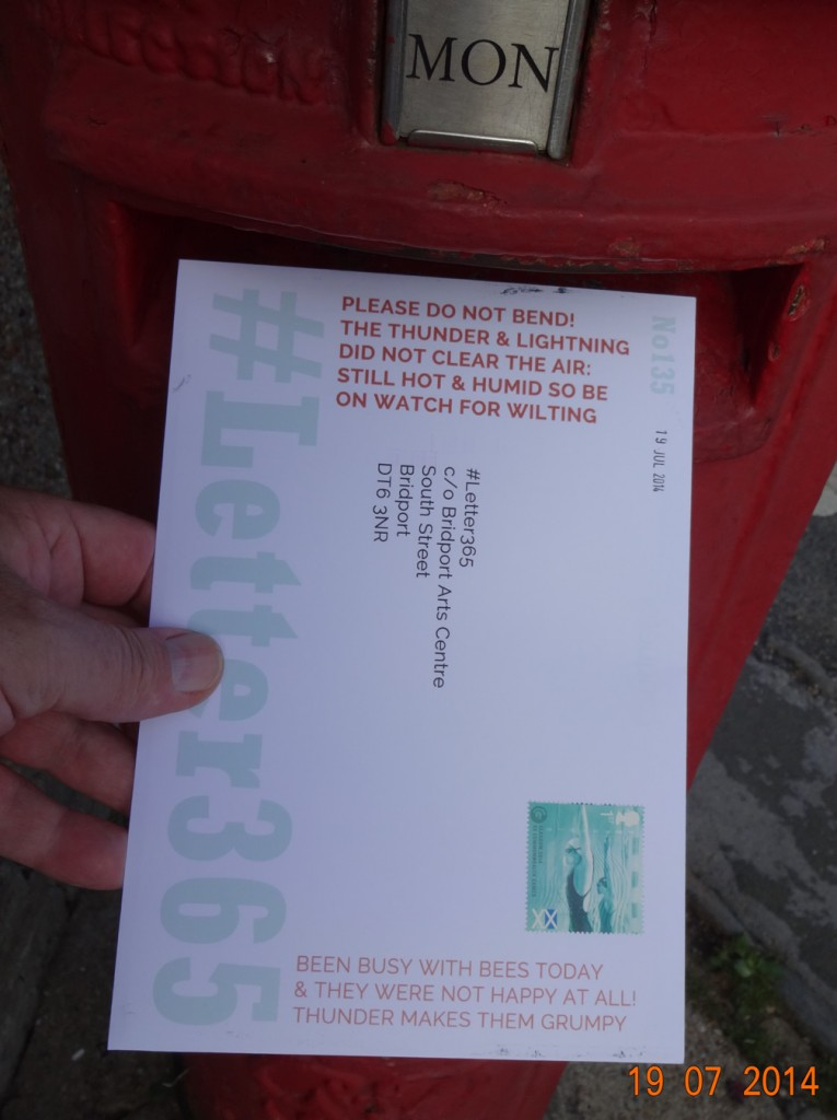 #Letter365 No135 gets posted