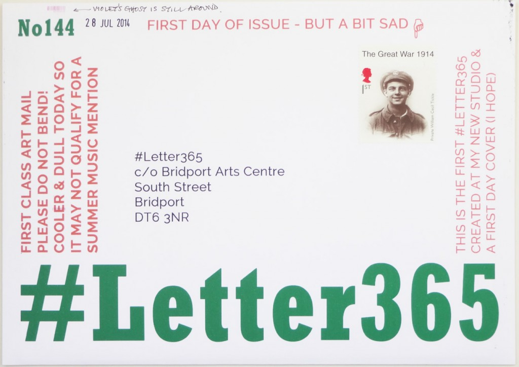 The front of #Letter365 No144