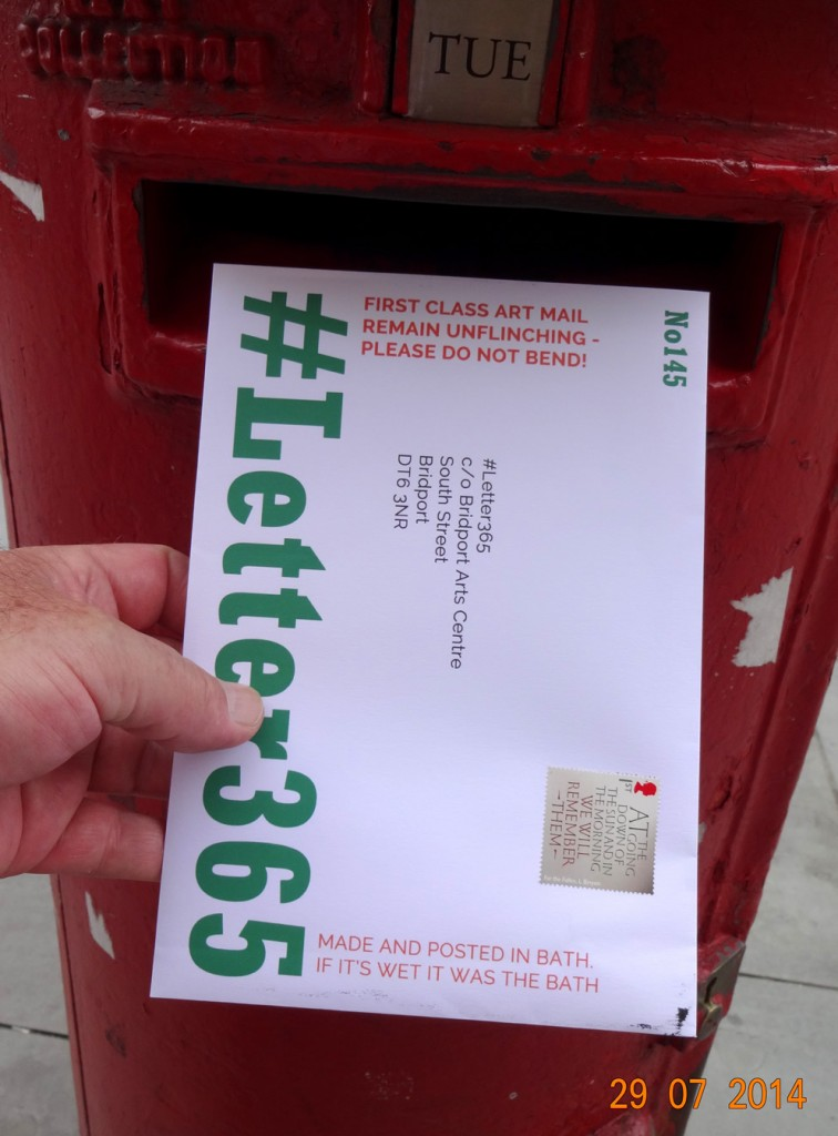 #Letter365 No145 gets posted in Bath