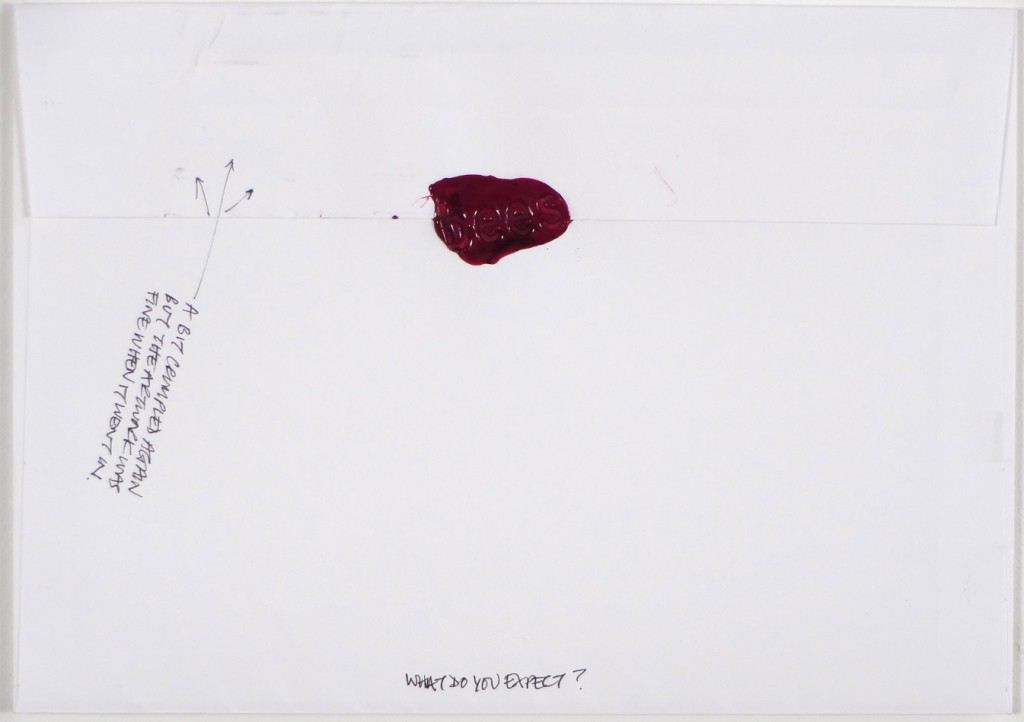 Back of #Letter365 No154