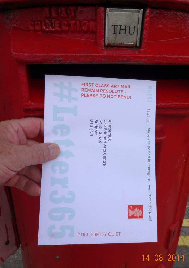#Letter365 No161 gets posted in Ramsgate