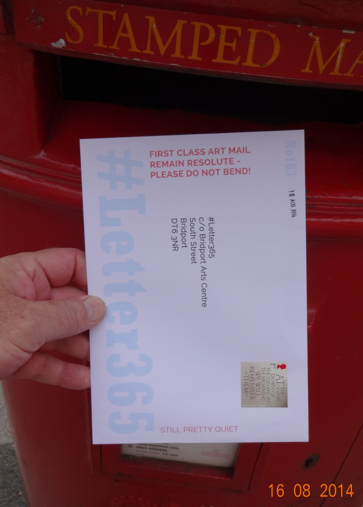 #Letter365 No163 goes in the box in Bridport