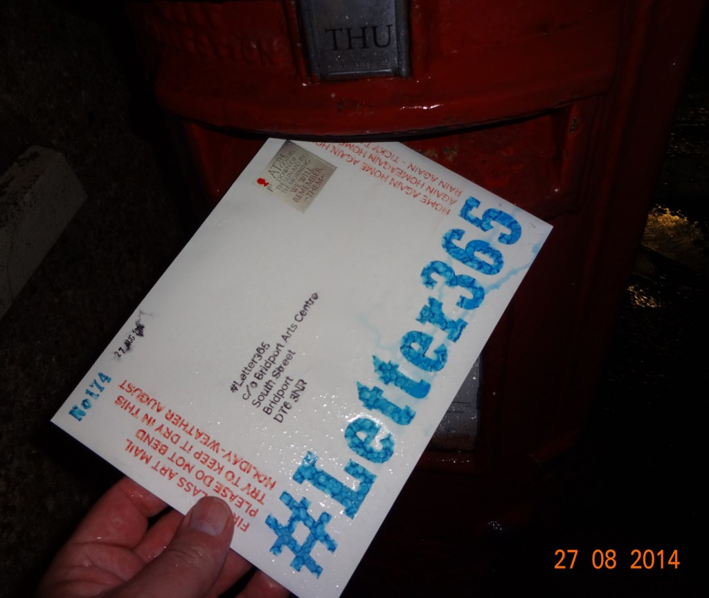 #Letter365 No174 gets seriously wet