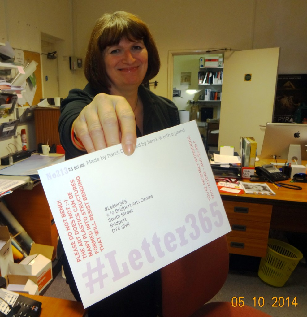 Dee takes delivery of #Letter365 No213