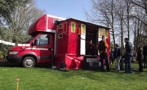 Kilter Theatre's mobile venue