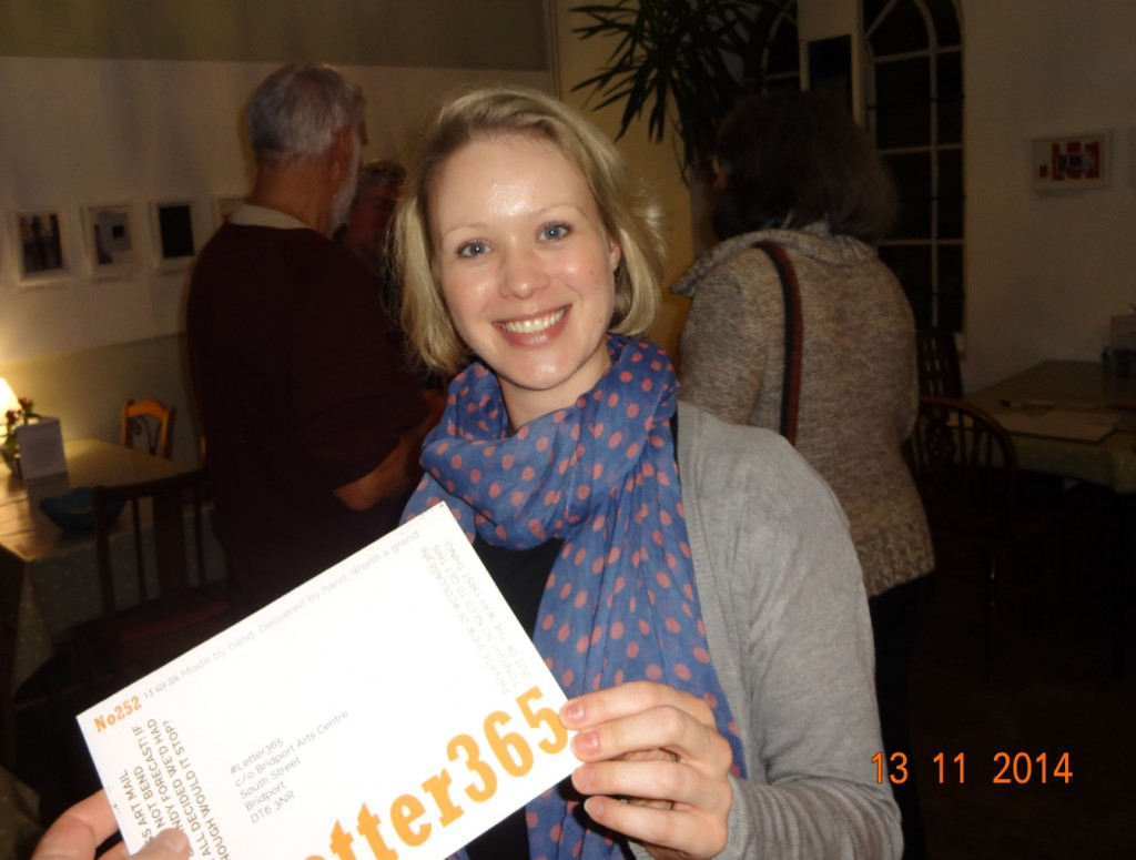 Laura Cockett takes delivery of #Letter365 No252