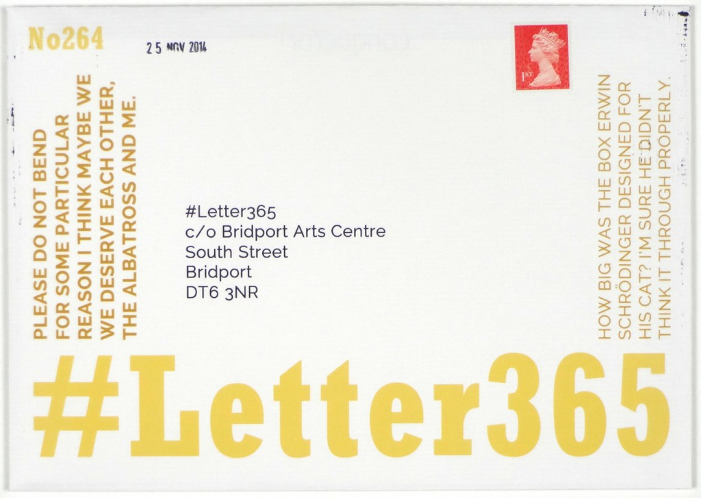 Envelope of #Letter365 No264