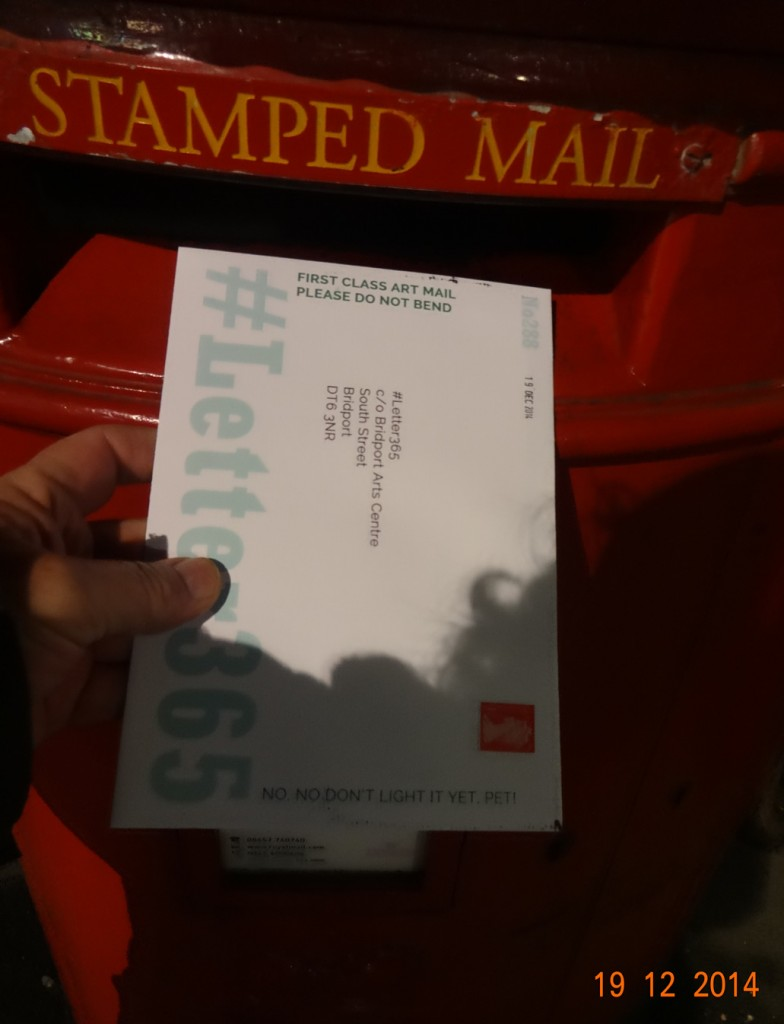 #Letter365 No288 goes in the box