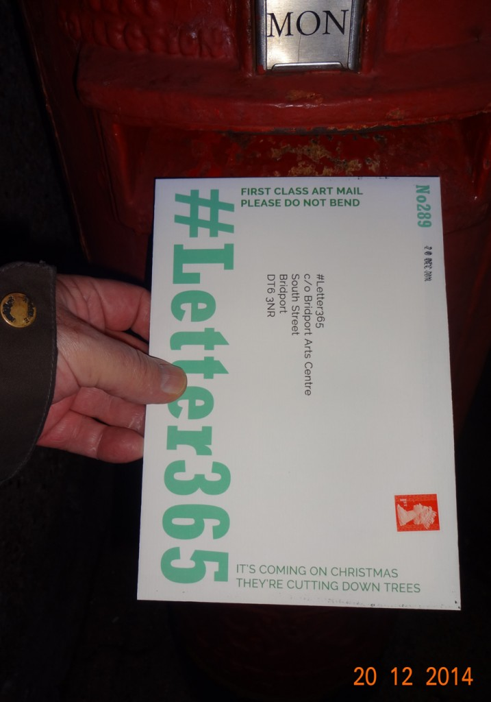 #Letter365 No289 gets posted