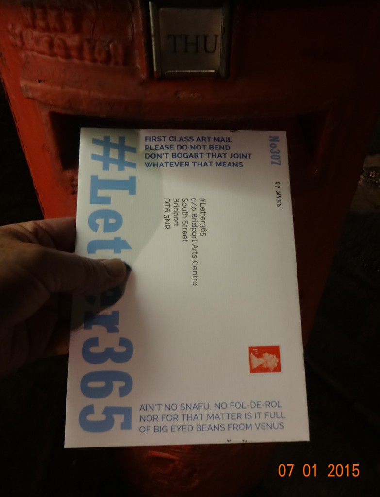 #Letter365 No307 goes in the box
