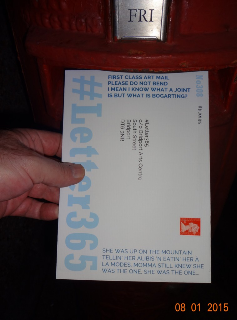 #Letter365 No308 gets posted