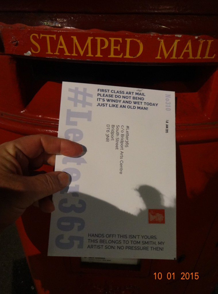 #Letter365 No310 goes in the box