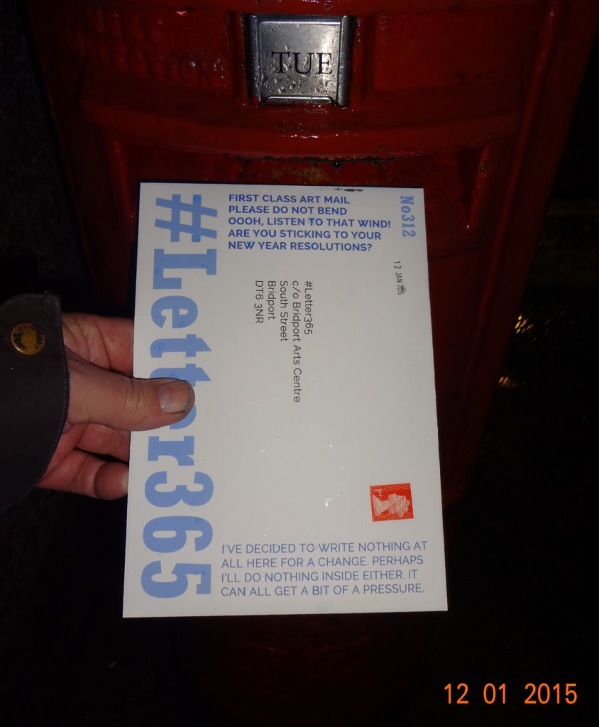 #Letter365 No312 gets posted