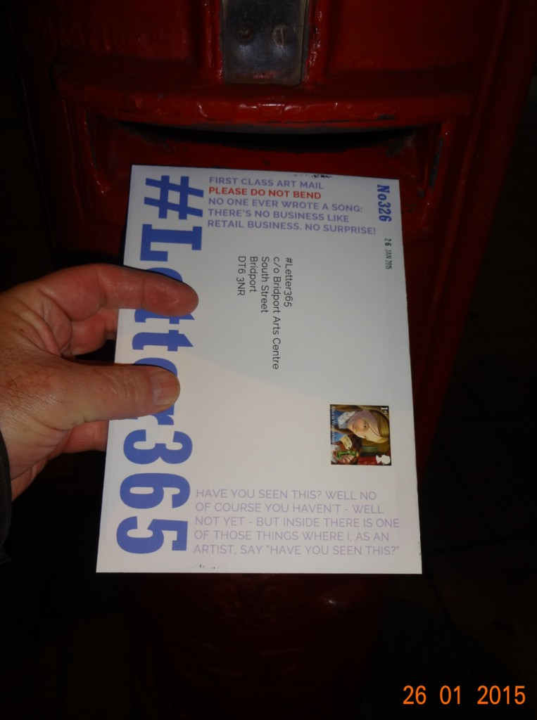 #Letter365 No326 gets posted