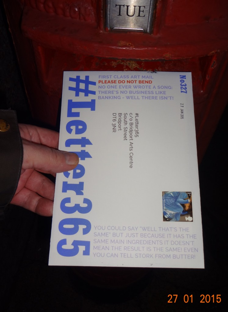 #Letter365 No327 gets posted