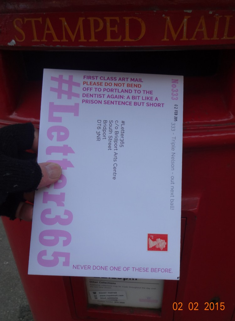 #Letter365 No333 goes in the box