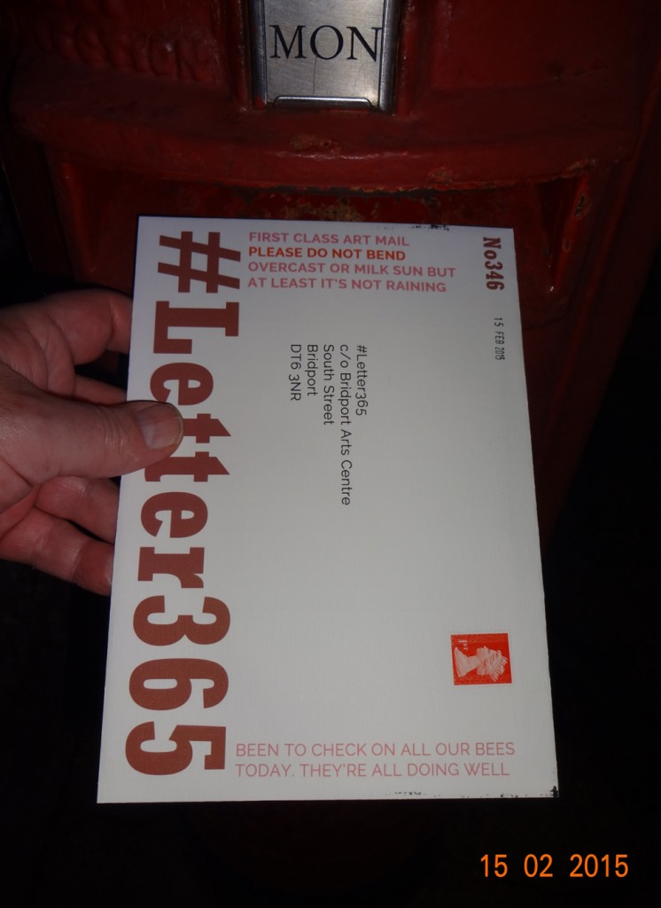 #Letter365 No346 goes in the box