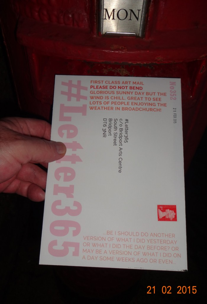 #Letter365 No352 gets posted