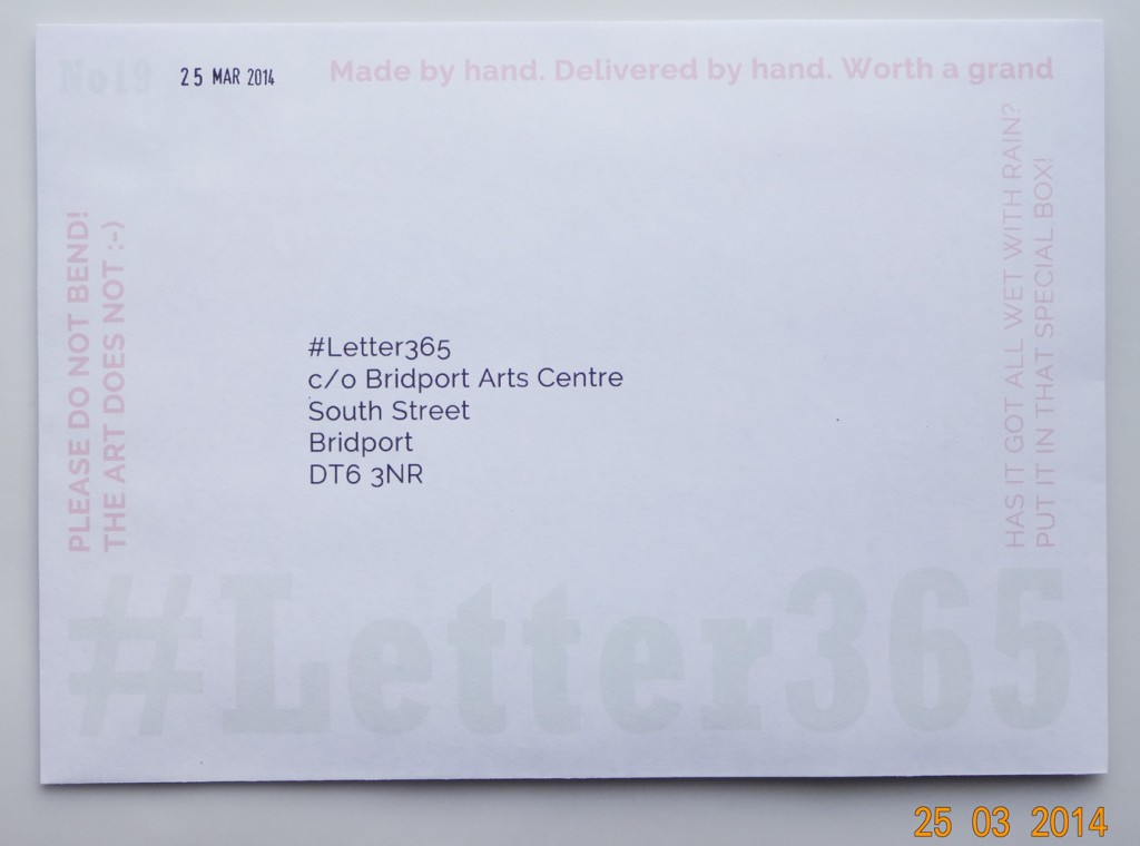 #Letter365 No19 ready to be delivered