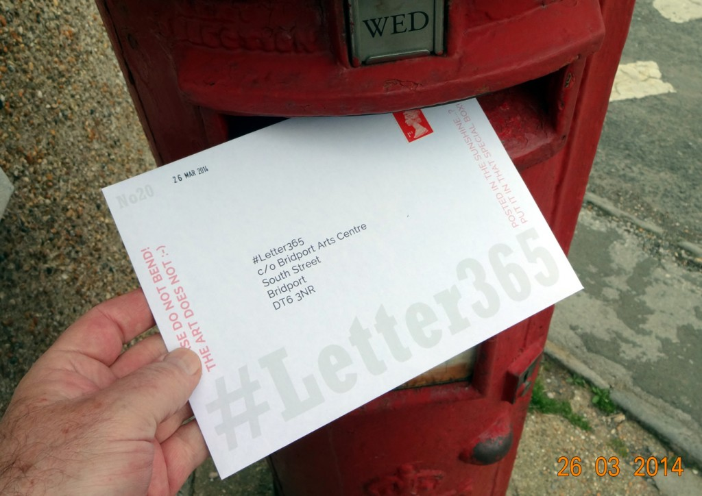 #Letter365 No20 goes in the box
