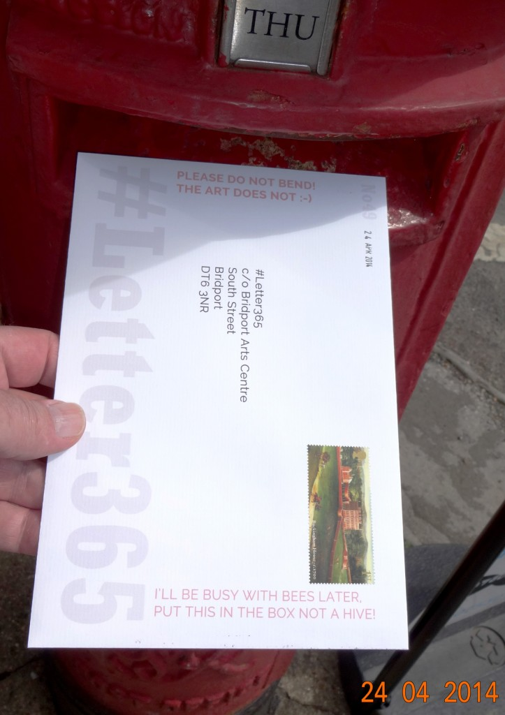 #Letter365 No49 gets posted in the sunshine