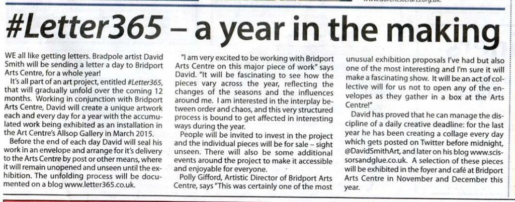 Article published in View From Bridport