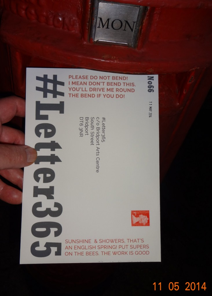 #Letter365 No66 gets posted at night