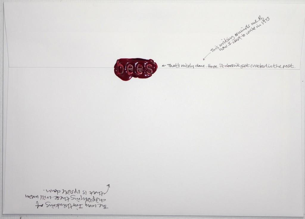 Back of #Letter365 No93