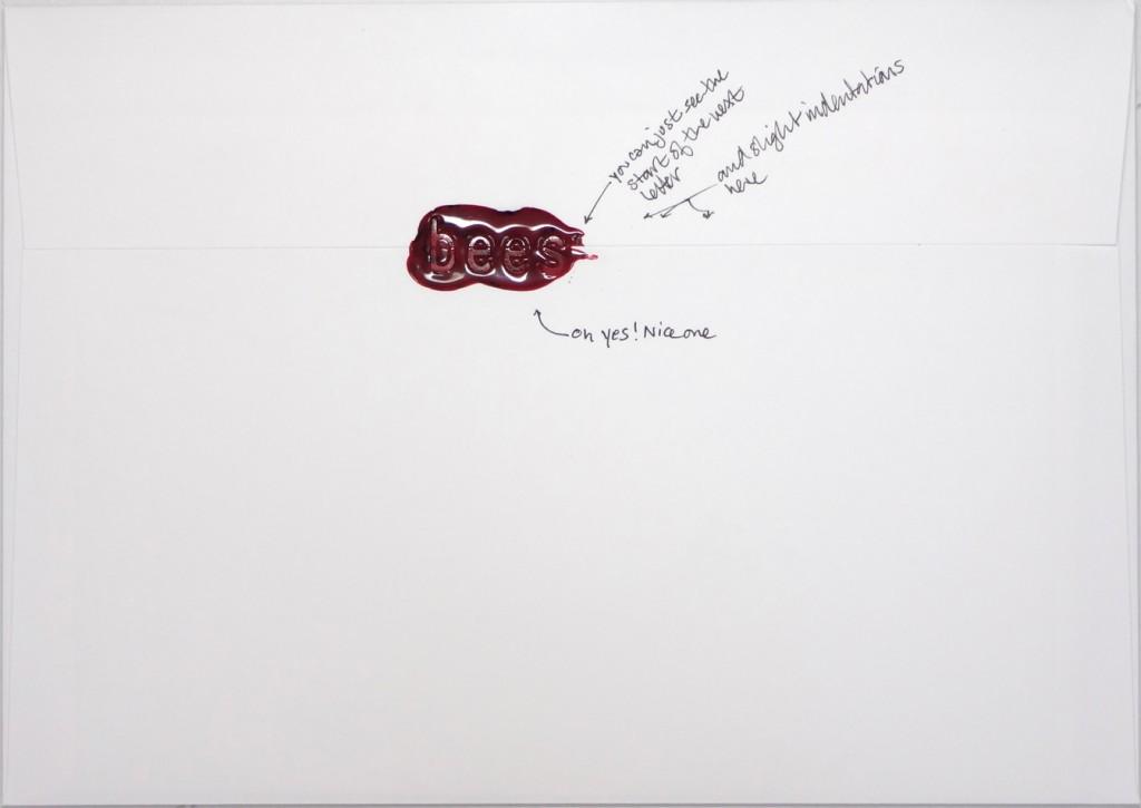 Back of #Letter365 No97's envelope