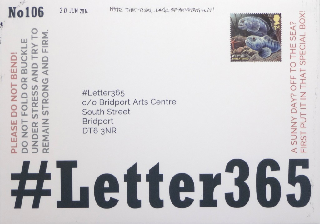 #Letter365 No106 is ready to go