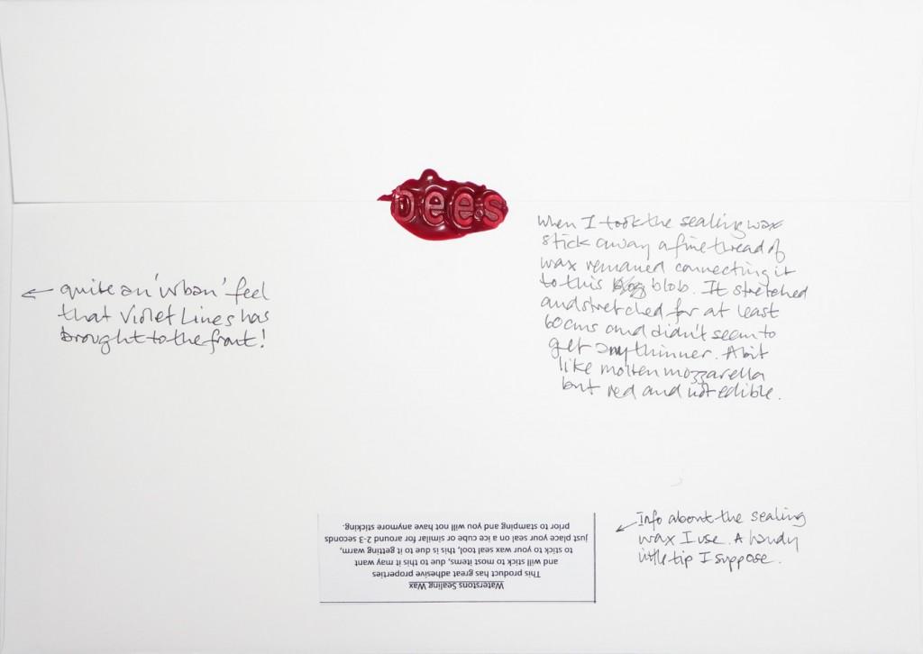 Back of #Letter365 No123