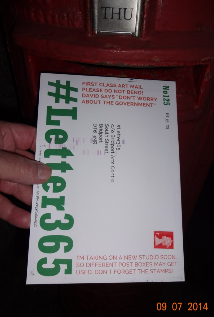 #Letter365 No125 gets posted