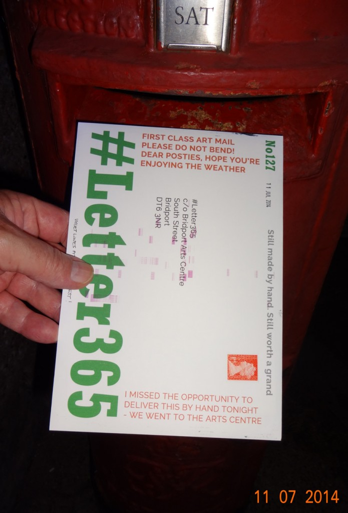 #Letter365 No127 gets posted