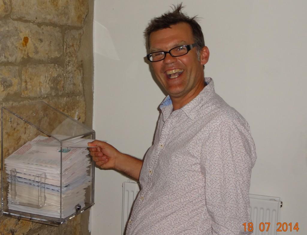 Storyteller Martin Maudsley posts #Letter365 No134