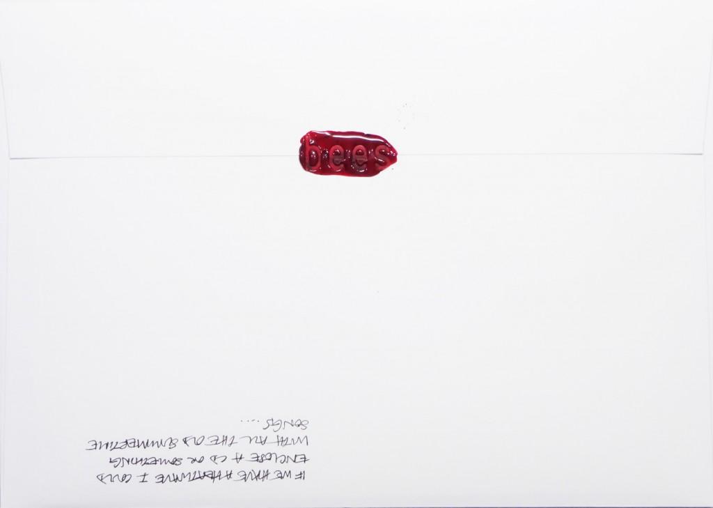 Back of #Letter365 No136