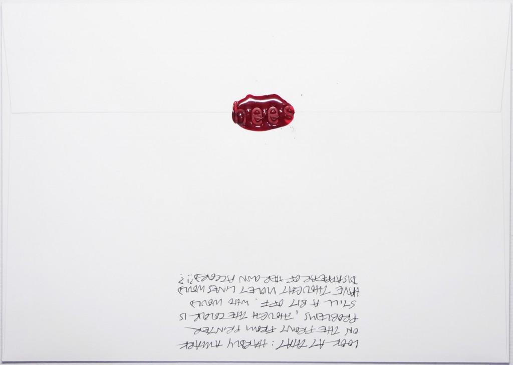 Back of #Letter365 No138
