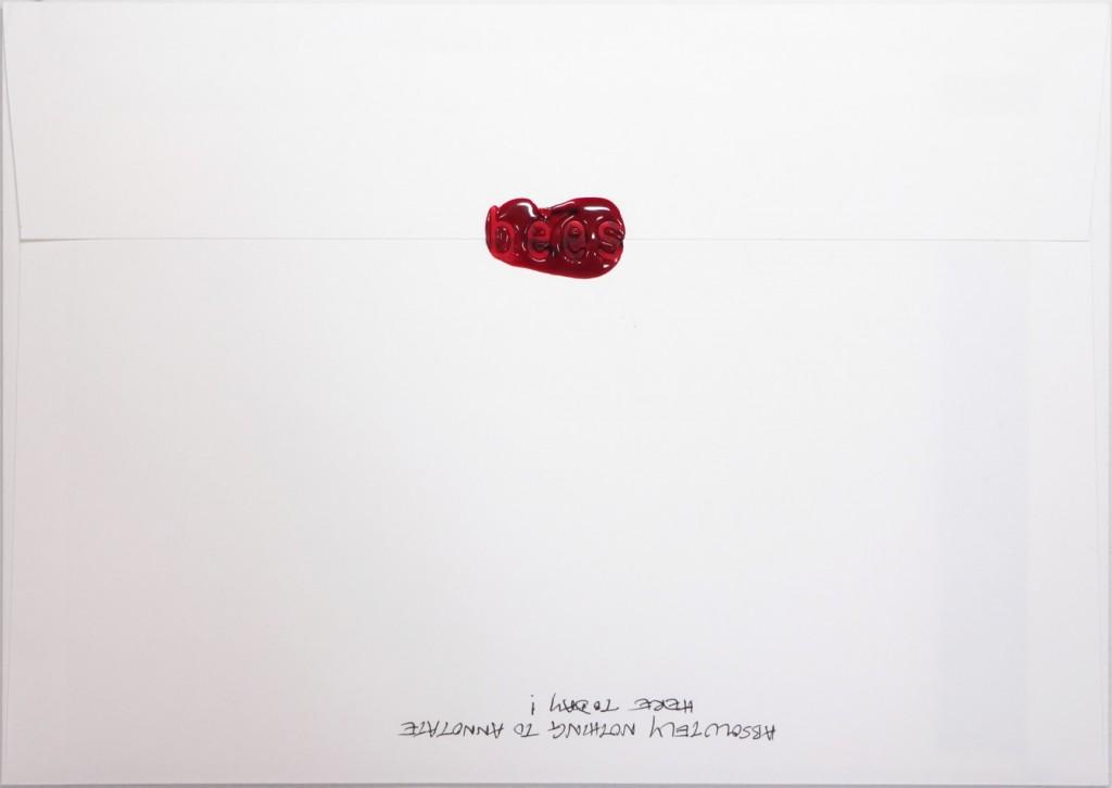 Back of #Letter365 No143