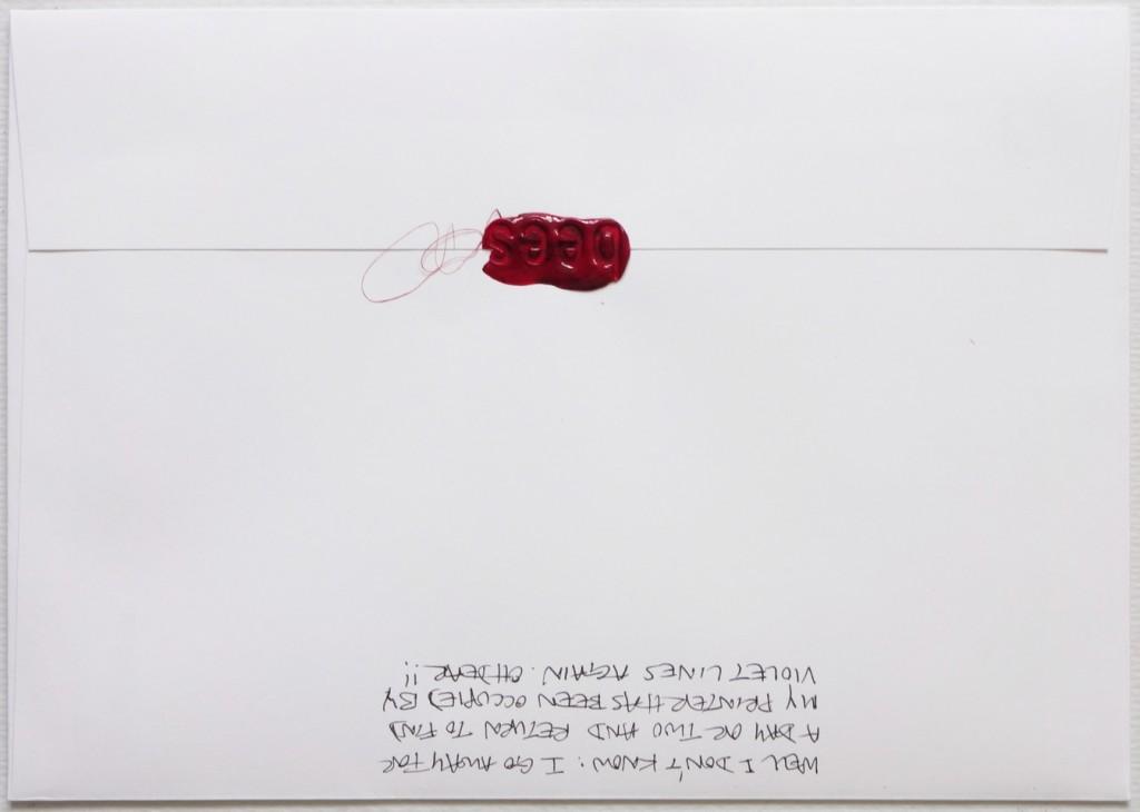 Back of #Letter365 No150