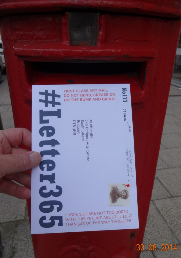 #Letter365 No177 gets posted in a box I have not used before